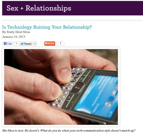 Is Technology Ruining Your Relationship?