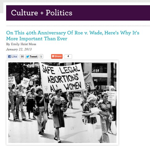 On This 40th Anniversary Of Roe v. Wade, Here_s Why It_s More Important Than Ever
