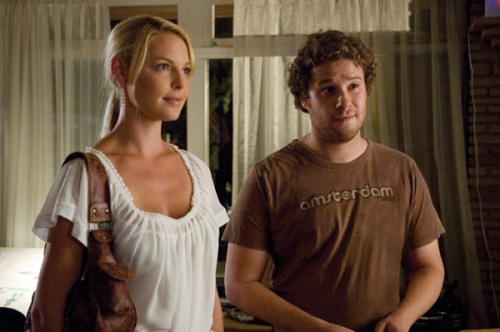 Katherine Heigl and Seth Rogan (Knocked Up)