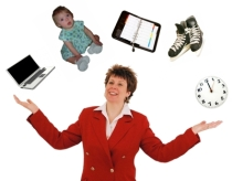"Hilarious stock photography of ""work life balance"""