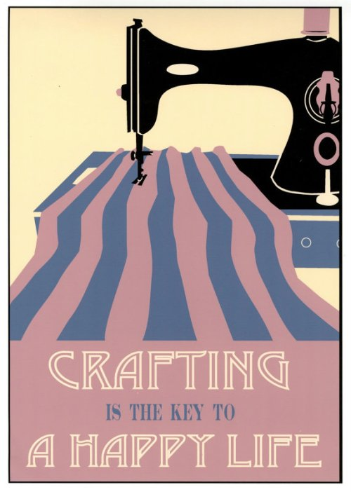 A print about crafting